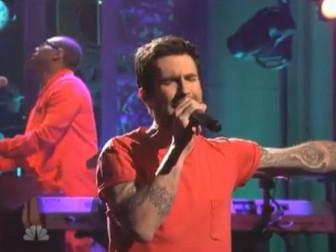 Maroon 5 at Saturday Night Live