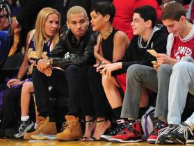 chris-brown-rihanna-lakes game 5