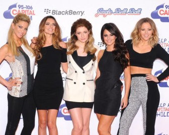 Girls Aloud @ jingl bell ball