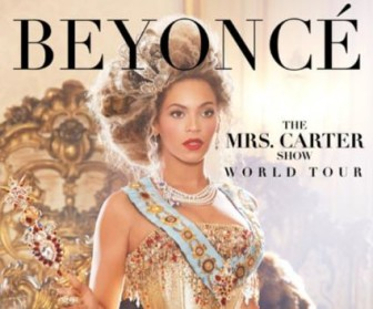 Η Beyonce ανακοινώνει το «Mrs. Carter Show World Tour»
