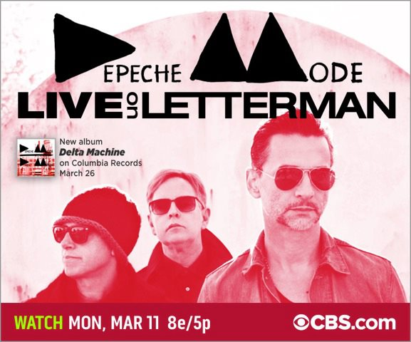 Depeche mode letterman cover