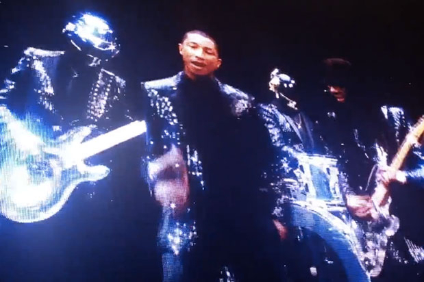 "Daft Punk ""Get Lucky"" trailer @ Coachella"