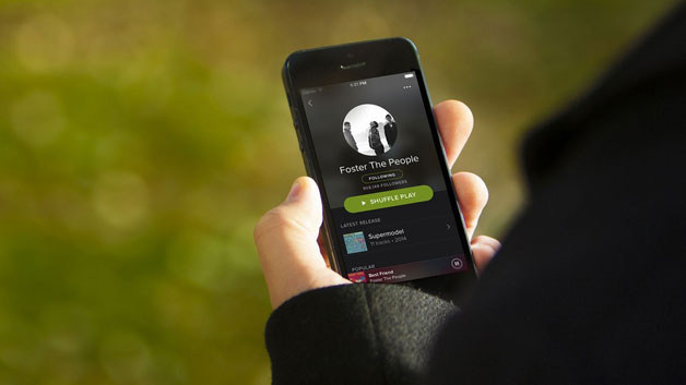 new spotify iphone app