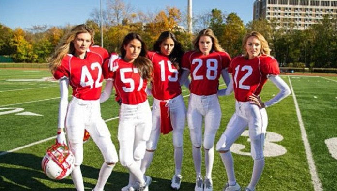Victoria's Secret Angels NFL
