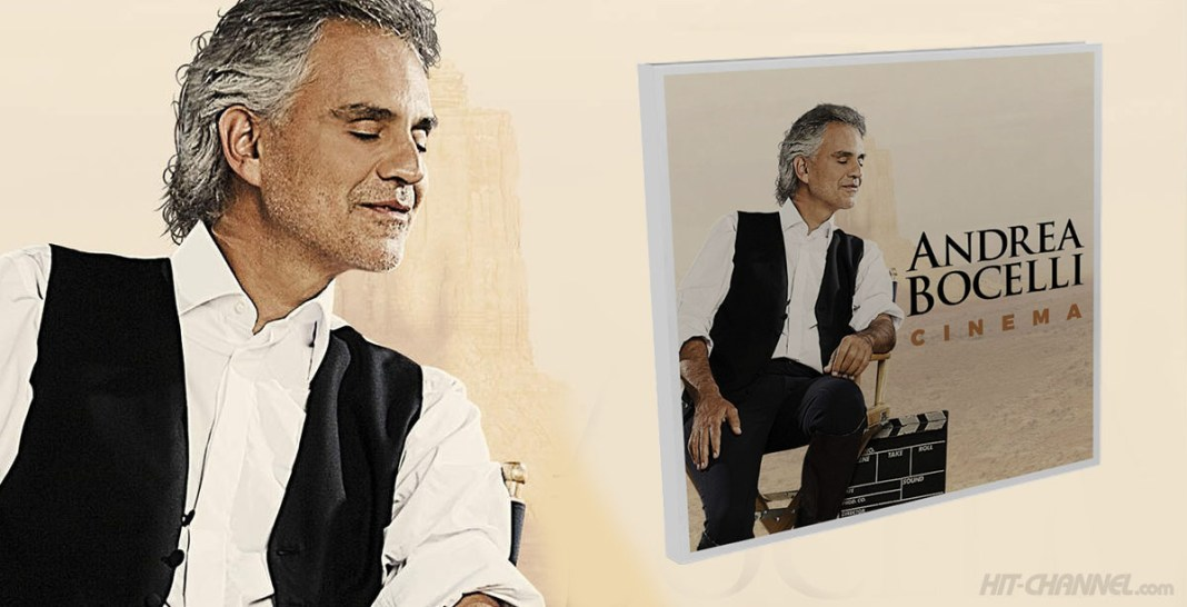 Andrea Bocelli - Cinema (CD Album Cover) - Hit Channel