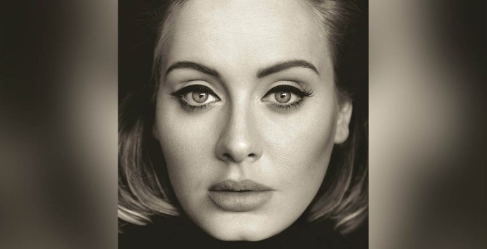 Adele - 25 (CD cover 2015) - Hit Channel