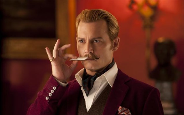 Johnny Depp, «Mortdecai»