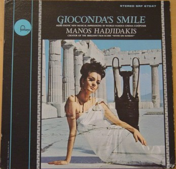 Manos Hadjidakis - Gioconda's Smile - USA 1965 - cover - Hit Channel