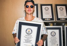 Justin Bieber - Guinness Records