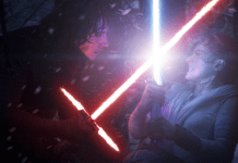 Star Wars Ep 8 The Last Jedi Rey vs Kylo Ren
