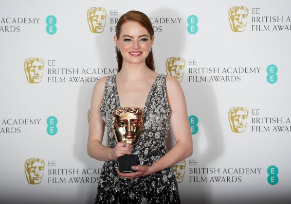 BAFTA Awards 2017 - Emma Stone - Hit Channel