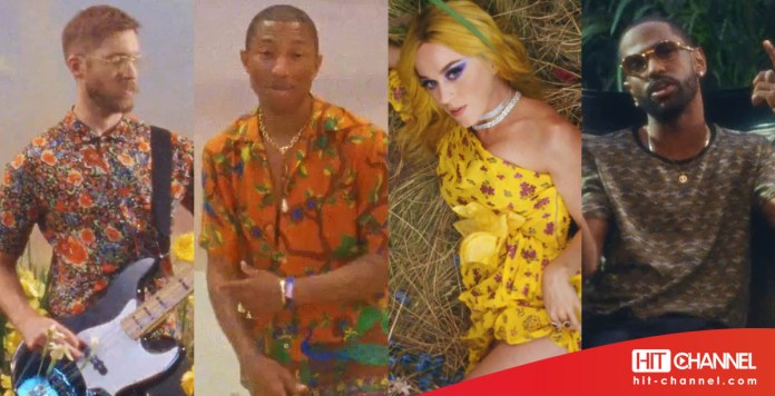 Calvin Harris - Pharrell Williams - Katy Perry - Big Sean (Feels - video clip) - Hit Channel