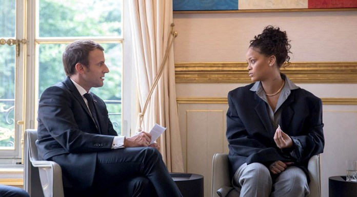 Emmanuel Macron - Rihanna - Hit Channel