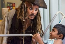Johnny Depp - BC Children's Hospital - Hit Channel