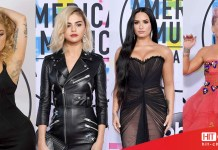 LADY GAGA - SELENA GOMEZ - DEMI LOVATO - PINK P!NK - RED CARPET - AMERICAN MUSIC AWARDS - AMAs 2017 - Hit Channel