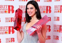 Dua Lipa - BRIT Awards 2018 - Hit Channel