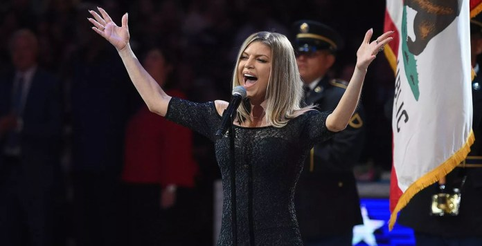 Fergie - NBA All-Star Game - national anthem - Hit Channel