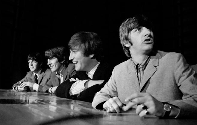 The Beatles - unsheen photos 1964 USA - Hit Channel