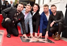 NSYNC - Justin Timberlake - Hollywood Walk of Fame - Hit Channel