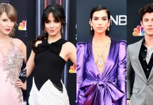 Taylor Swift - Camila Cabello - Dua Lipa - Shawn Mendes - Billboard Music Awards 2018 - red carpet - Hit Channel