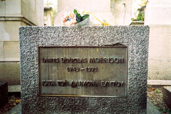 Jim Morrison - grave