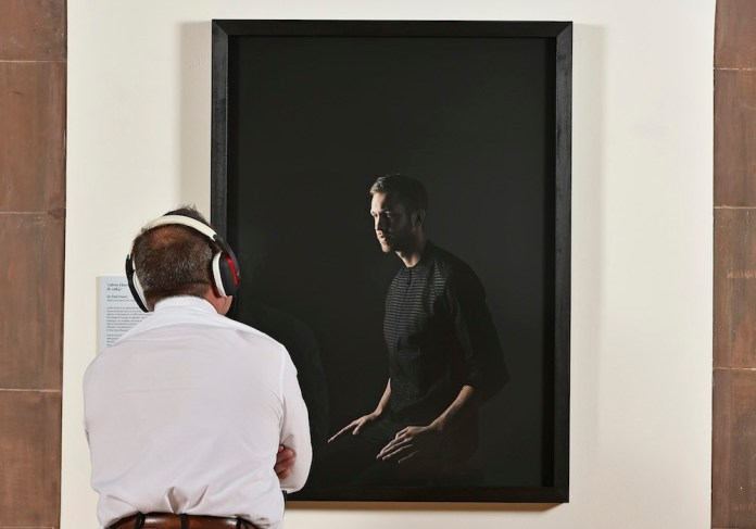 Calvin Harris - portrait - National Galleries Scotland - Hit Channel