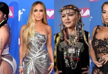 Nicki Minaj - Jennifer Lopez - Madonna - Rita Ora - MTV Video Music Awards VMA 2018 - red carpet - Hit Channel