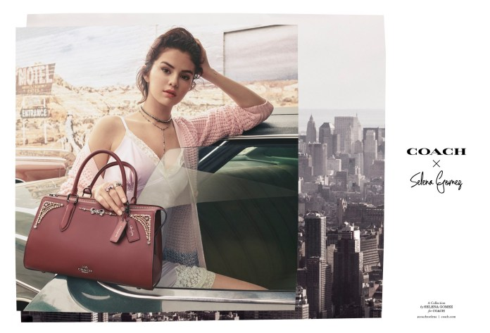 Selena Gomez x Coach - fw18 - Hit Channel