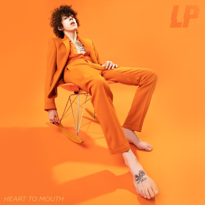 LP - Laura Pergolizzi - Heart To Mouth (album cover) - Hit Channel