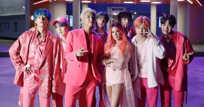BTS - Halsey - Boy With Luv (Official Music Video)