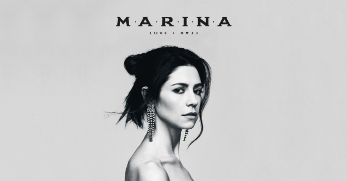 Marina - Love + Fear (album cover)
