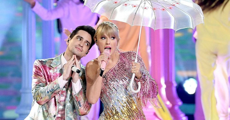 Taylor Swift - Brendon Urie - ME! - Billboard Music Awards 2019