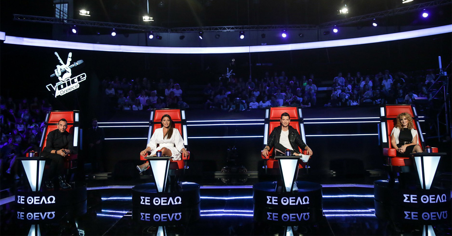 The Voice Of Greece 2019 coaches 2