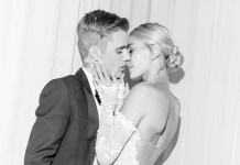 Justin Bieber - Hailey Baldwin - wedding photo
