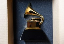 Grammy - trophy 2020
