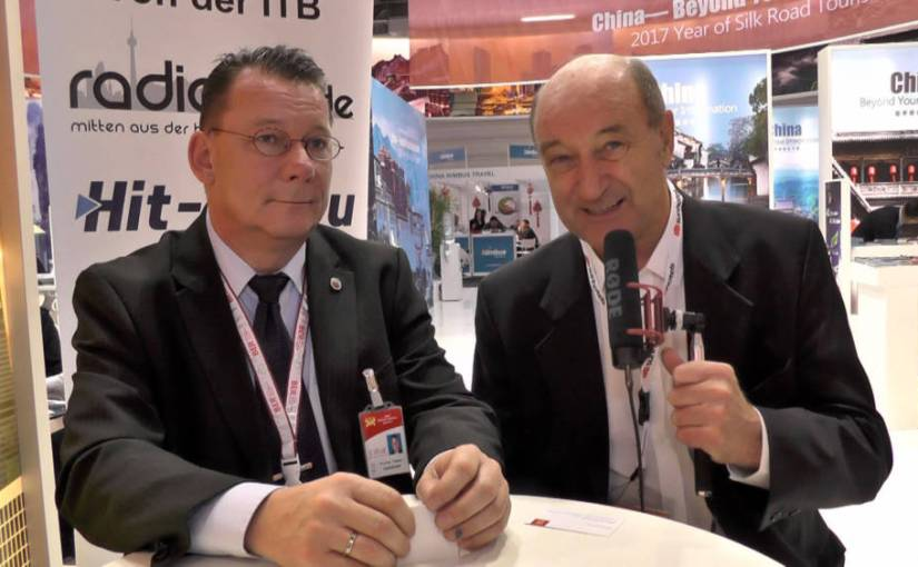 ITB 2017 Interview – Stefan Pampel Hainan Airlines