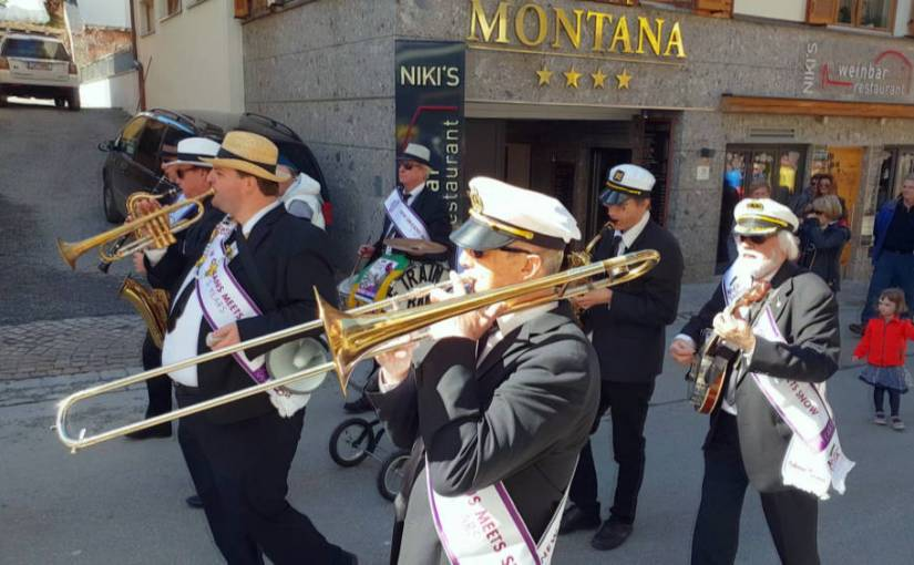 Dixi Train MarchIng Band in St. Anton am Arlberg