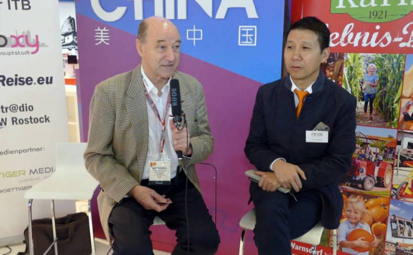 ITB 2018: Interview mit Liu Guosheng – China Tours