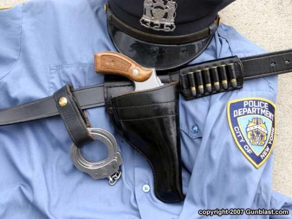 Police Officer Flashlight