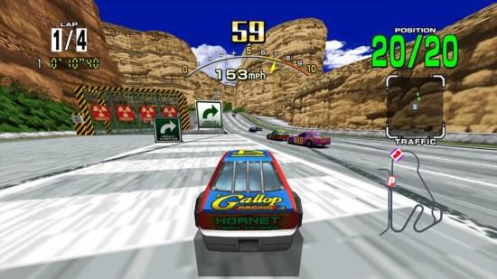 Daytona USA MAME Games P7