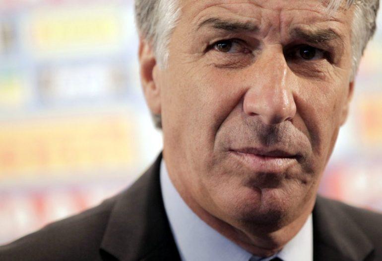 Atalanta BC coach Gian Piero Gasperini is wanted by Tottenham