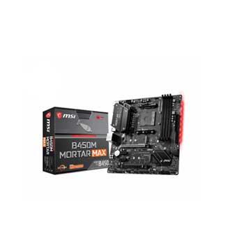 Motherboard MSI B450M AMD DDR4 MORTAR MAX gaming