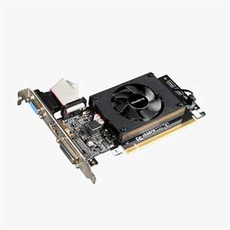 Gigabyte Geforce 2GB DDR3 GT-710 GV-N710D3-2GL PCI Express Card