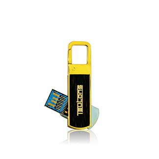 TEUTONS 32 GB USB3.1 Solid Gold Plus Pendrive