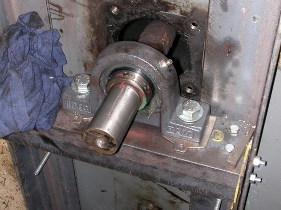 Air Handler Shaft And Bearing Repair And Noise Reduction