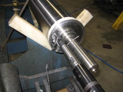 Paper machine rolls