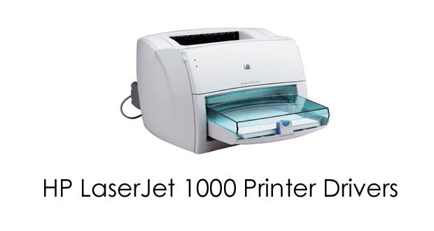 Hp Laserjet 1000 Series Driver