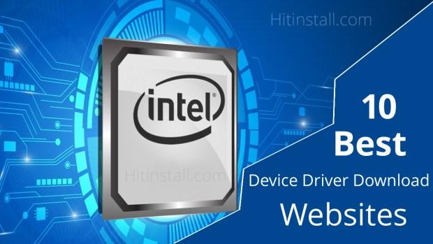 Device Driver Download Websites