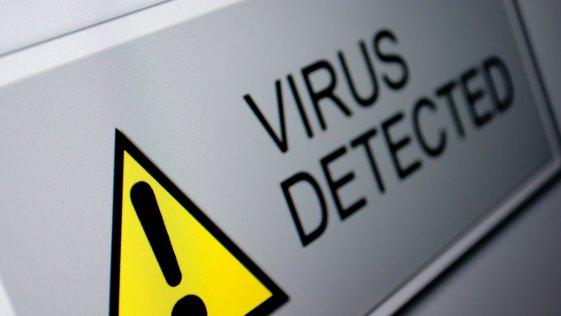 Virus Attacked
