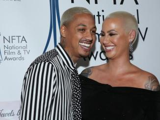 Amber Rose Gushes About Her Boyfriend, Says She Felt Damaged Before They Met